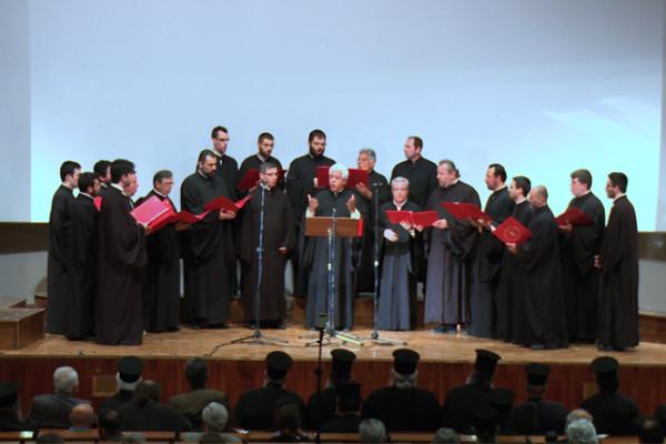 Η Ελληνική Βυζαντινή Χορωδία στην επετειακή συνάντηση βυζαντινών χορωδιών