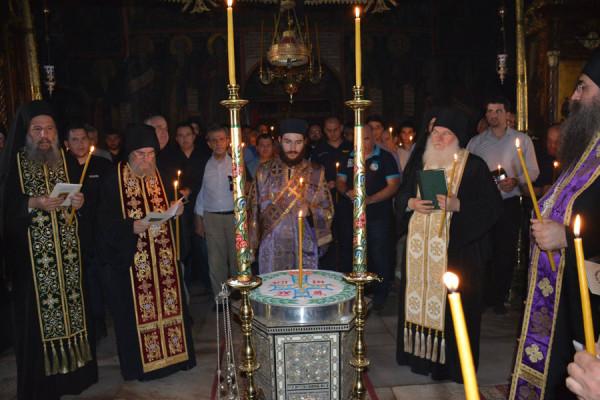 Το τεσσαρακονθήμερο μνημόσυνο του μακαριστού Γέροντα Σπυρίδωνα Μικραγιαννανίτη