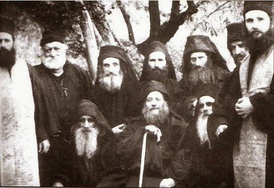 Όσιος Ιωσήφ Ησυχαστής κι η συνοδεία του