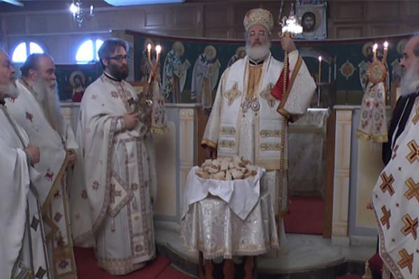 Πανηγυρική Θεία Λειτουργία στη Θεολογική Σχολή Θεσσαλονίκης