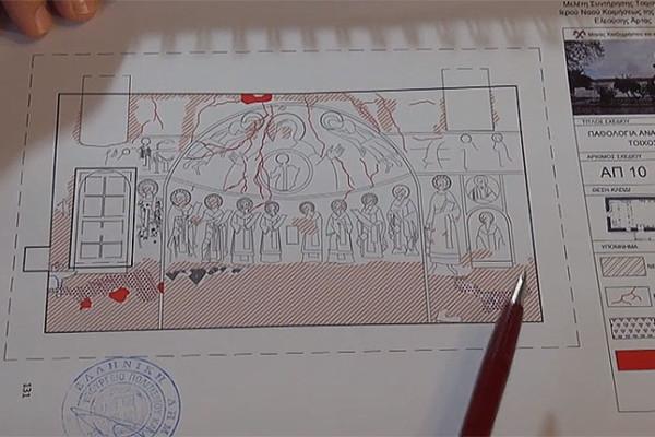 Μία άγνωστη πλευρά της συντήρησης μνημείων και ζωγραφικών έργων