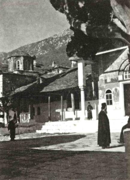 Ιερά Μονή Μεγίστης Λαύρας (φωτ. 1935)