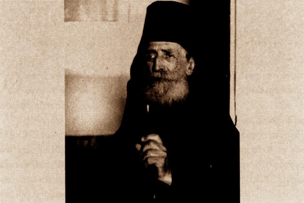Ο ιερομόναχος Δανιήλ Κατουνακιώτης