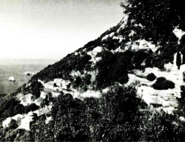 Καλύβες ιεράς σκήτης Καυσοκαλυβίων