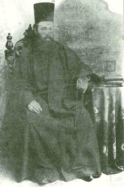 Ιεροδιάκονος Αρκάδιος Βατοπεδινός σε νεαρά ηλικία