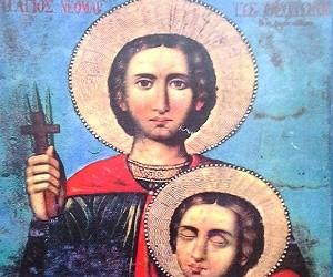 Ο Άγιος Νεομάρτυς Θεόδωρος των Δαρδανελλίων