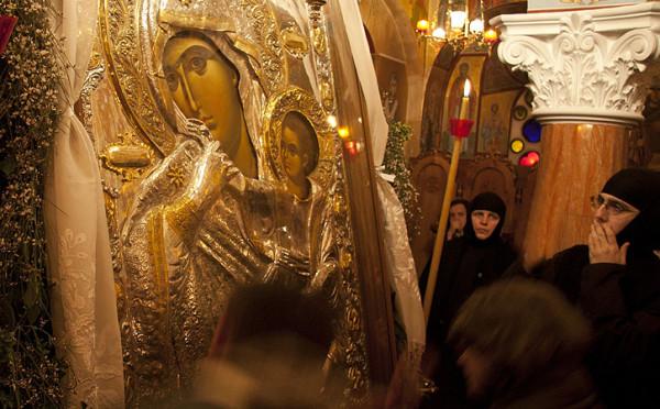 Η Παναγία Παραμυθία στη Μονή Γοργοεπηκόου: λαμπρή υποδοχή