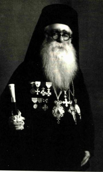 Μητροπολίτης Ιεζεκιήλ Θεσσαλιώτιδος (φωτ. Γ. Ιγνατίου Νεοσκητιώτου).