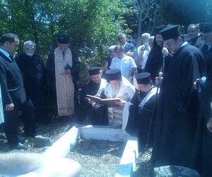 Ο Οικουμενικός Πατριάρχης σε μνημόσυνο της γενέτειράς του