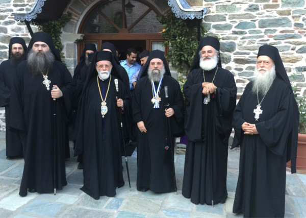 Κτητορικά στην Ιερά Μονή Κουτλουμουσίου (2015)