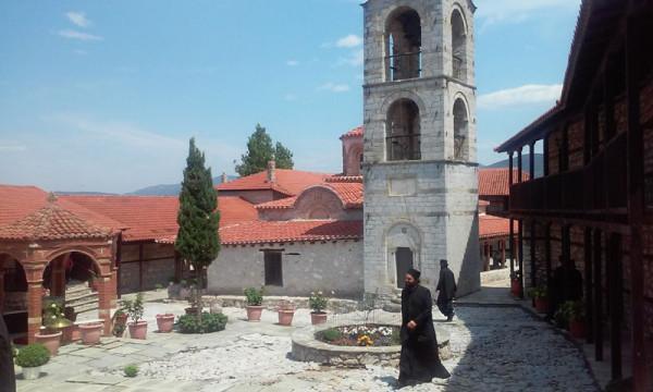 Πανήγυρις στην Ιερά Μονή Μεταμορφώσεως του Σωτήρος Ζάβορδας (2015)