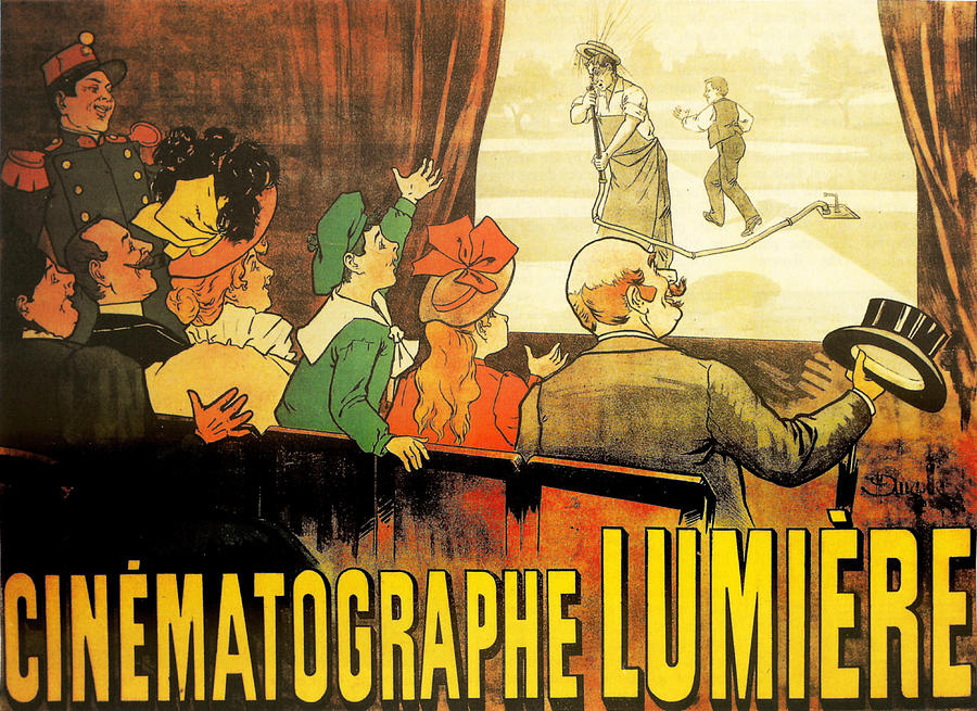 Cinematograph Lumiere advertisement