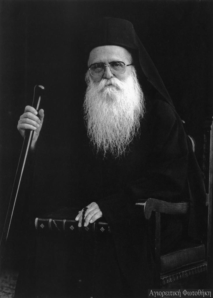 Γεράσιμος μοναχός Μικραγιαννανίτης, ο υμνογράφος (1905-1991) (Φωτογραφία: Douglas Little) Πηγή: athosprosopography.blogspot.gr