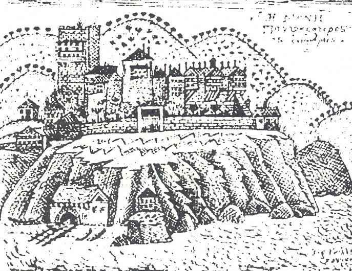 Ιερά Μονή Παντοκράτορος (Σχέδιο Ρ.Κοψίδη 1957)
