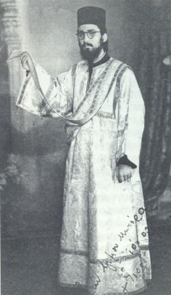 Ιεροδιάκονος Κορνήλιος Γρηγοριάτης, ο πολύ αγαπητός απ' όλους.