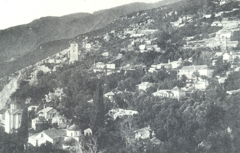 Ιερά Νέα Σκήτη ( Φωτ.1928)