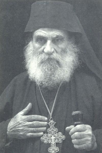 Ιερομόναχος Γαβριήλ Διονυσιάτης , ο πολυσέβαστος ηγούμενος των ηγουμένων ( φωτ.D.Lyttle)