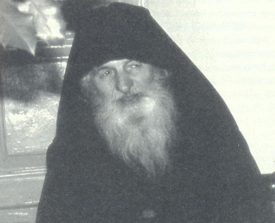 Παπα- Ματθαίος Καρακαλλινός (φωτ. μοναχού Γαβριήλ Φιλοθεϊτη)