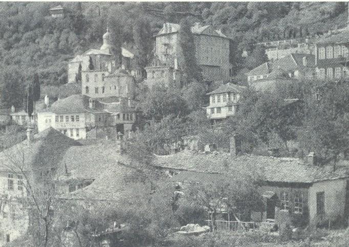 Ιερά σκήτη Καρυών Αγίου Όρους (φωτ.1918)