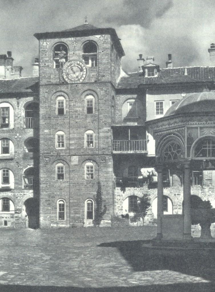 Ιερά Μονή Ξηροποτάμου (φωτ.1930)