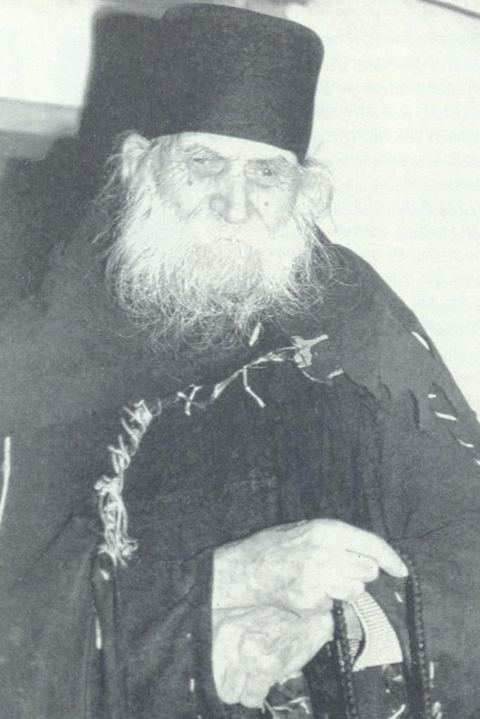 Μοναχός Ιάκωβος Καρακαλλινός ,την πενία θεωρούσε πλούτο φωτ.μοναχού Χαρίτωνος Καρουλιώτου)