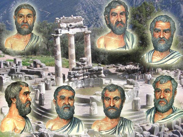 Αποτέλεσμα εικόνας για σοφοί της αρχαίας ελλάδας