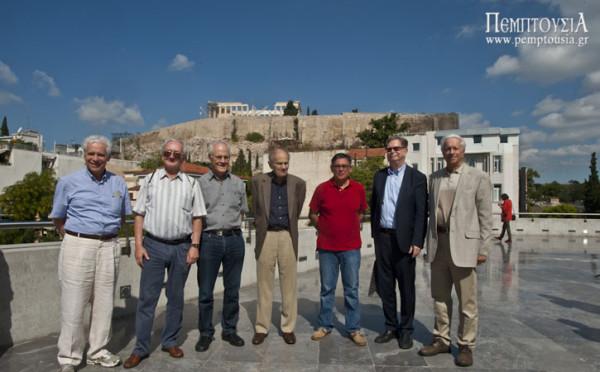 Οι Επτά Σοφοί της Κοσμολογίας, στο Μουσείο της Ακρόπολης