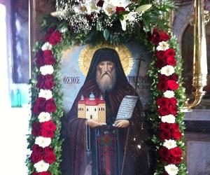 Όσιος Παχώμιος ο Χίος, ο παλαίσας και νικήσας