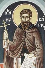 Ο Άγιος Οσιομάρτυς Μακάριος από την Κίο της Βιθυνίας