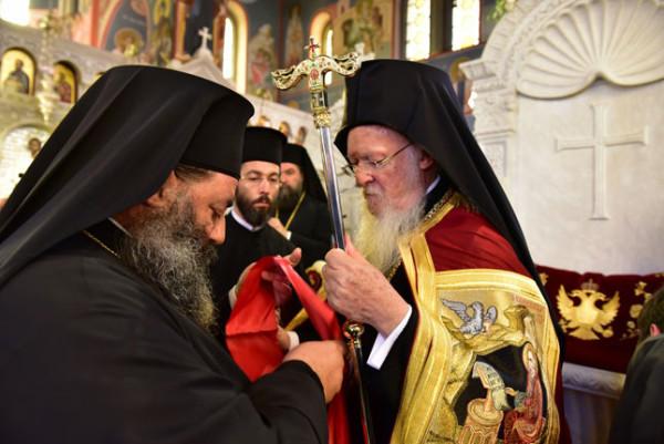 Υποδοχή του Οικουμενικού Πατριάρχη στο Λαγκαδά
