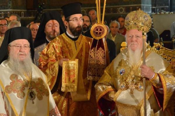 Πατριαρχική Θεία Λειτουργία στον Ι. Καθεδρικό Ναό της του Θεού Σοφίας Θεσσαλονίκης