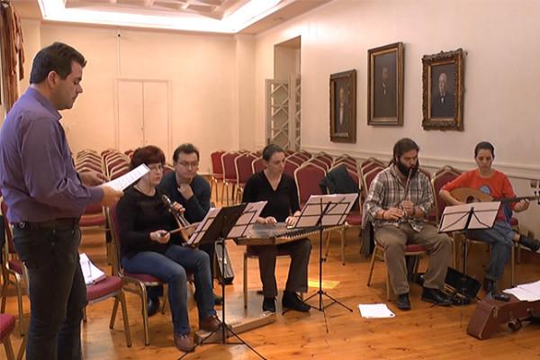 Ελληνο-Τουρκική Ιερή Μουσική (πρόβα συναυλίας)