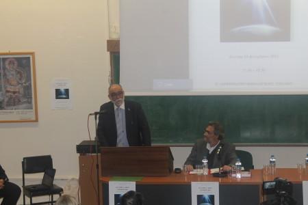 Ο Κοσμήτορας της Θεολογικής Σχολής, Καθ. Μ. Κωνσταντίνου, απευθύνει χαιρετισμό