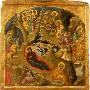 Η θεολογία της εικόνας της Γέννησης του Χριστού