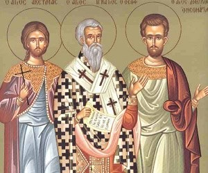 Ο Άγιος Νεομάρτυς Δημήτριος ο Χιοπολίτης