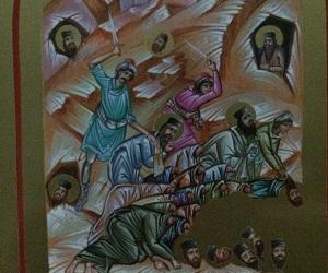 Αναιρεθέντων Πατέρων Μονής Οσίου Θεοδοσίου, οσία μνήμη