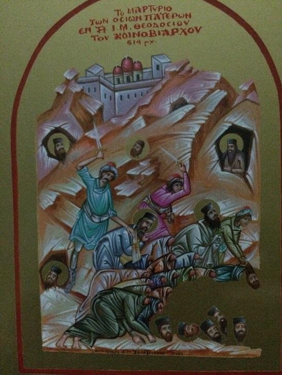 Αποτέλεσμα εικόνας για αγιοι θεοδοσιας οσιομαρτυρες