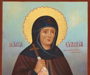 Οσία Ευλογία, η ανδρεία μητέρα του οσίου Θεοδοσίου, του Κοινοβιάρχου
