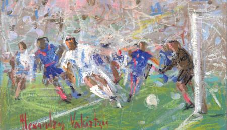 Ποδόσφαιρο και Τέχνη (Χαλάνδρι, Δ' μέρος)