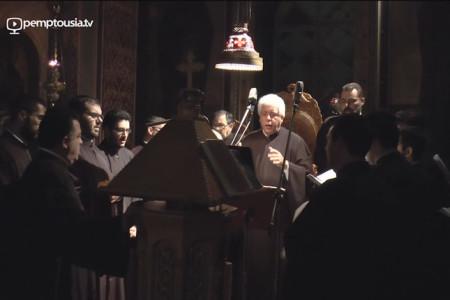 Χερουβικός Ύμνος Θεοδώρου Φωκαέως ήχος γ΄- Ελληνική Βυζαντινή Χορωδία (ΕΛΒΥΧ)