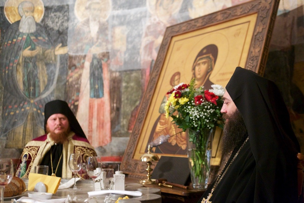 Πανήγυρις του αγίου Σάββα στην Ιερά Μονή Χιλανδαρίου