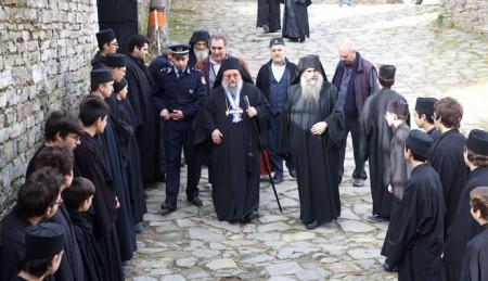 Μνήμη των Τριών Ιεραρχών και βράβευση αριστούχων μαθητών Αθωνιάδας Σχολής