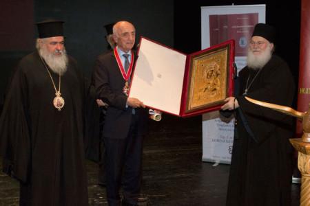 Απονομή τιμητικών διακρίσεων στον Καθηγητή Γεώργιο Μαντζαρίδη