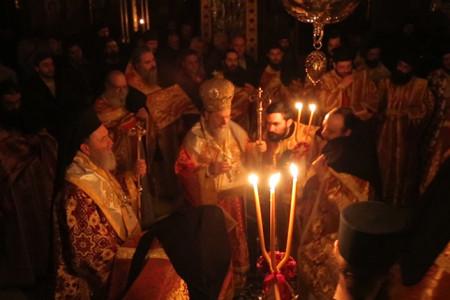 Πανήγυρις Παναγίας Παραμυθίας στην Ι.Μ.Μ. Βατοπαιδίου (2016)