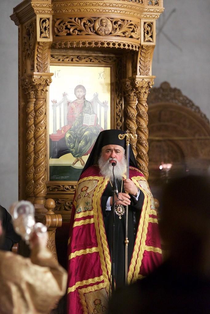 Φωτογραφικές στιγμές από την ομιλία του Γέροντα Εφραίμ στον Ι.Ν. Αγ. Κωνσταντίνου & Ελένης Ηλιουπόλεως Θεσσαλονίκης