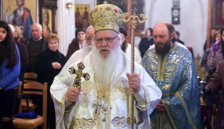 Προσκύνημα στην Ιερά Μητρόπολη Αργυροκάστρου – Θ. Λειτουργία Κυριακή της Τυρινής