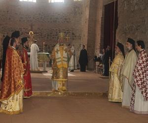 Θεία Λειτουργία στη Ροτόντα Θεσσαλονίκης