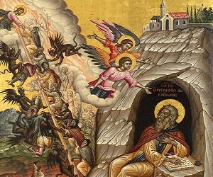 Όσιος Ιωάννης ο Σιναΐτης, ο αγωνιστής συγγραφέας της Ερήμου