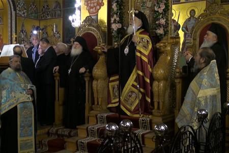 Υποδοχή Παναγίας Παραμυθίας στον Ιερό Ναό Ευαγγελιστρίας Ευόσμου
