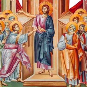 Ο Κύριος εμφανίζεται στους Αποστόλους και στον Θωμά